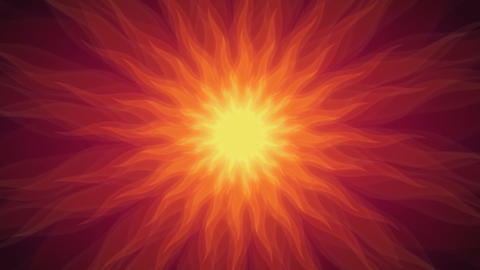 Sunsun - Stylized Sun Video Background Loop Stock Video Footage