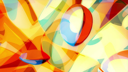 Franz - Colorful Painterly Texture Video Background Loop Stock Video Footage