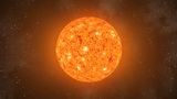 Sun Orbiting Loop CGI HD Animation