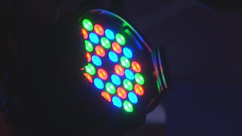 concert lights 9 Stock Video Footage