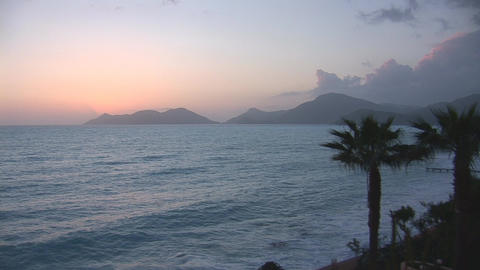sunset warm 4 Footage