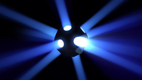 Disco Ball light A Bb HD Stock Video Footage