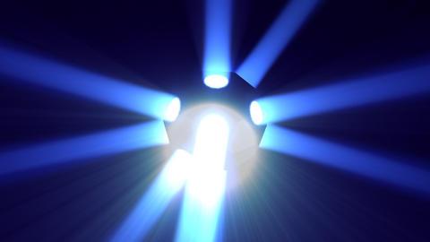 Disco Ball light A Bb HD Stock Video Footage