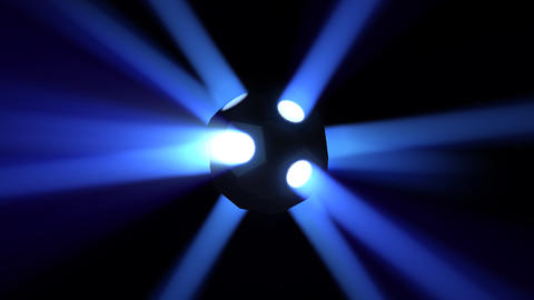 Disco Ball light A Bb HD Animation