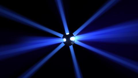 Disco Ball light B Bb HD Stock Video Footage