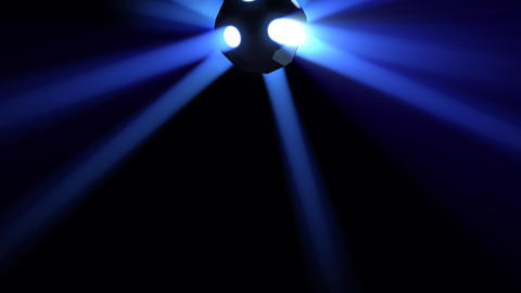 Disco Ball light C Bb HD Stock Video Footage