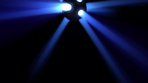 Disco Ball light C Bb HD Animation