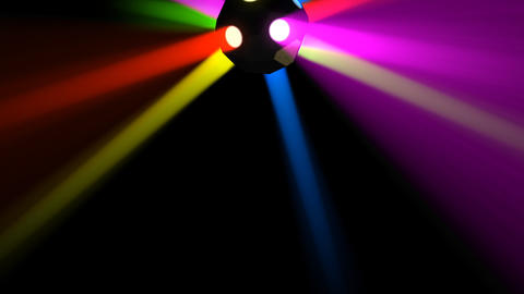 Disco Ball light C Cb HD Stock Video Footage
