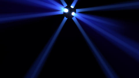 Disco Ball light D Bb HD Animation
