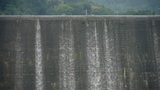 overflow dam,Waterfall texture,rainy season Footage