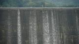 overflow dam,Waterfall texture,rainy season Footage