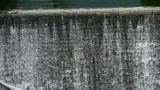 Waterfall texture,overflow dam,rainy season Footage