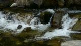 Mountain waterfall stream Footage