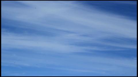 Blue Sky Timelapse stock footage