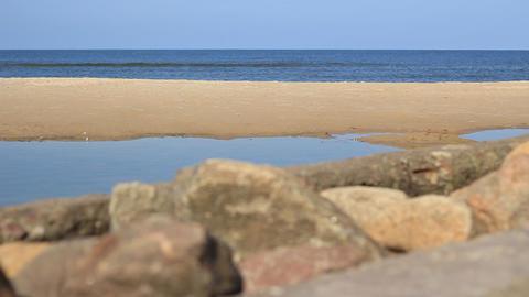 Stones Near Sea Footage