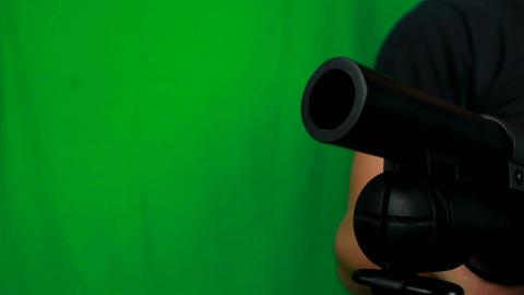 Man Torse With A Shotgun Live Action