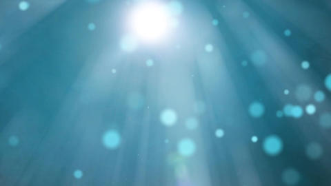 Abstract Overlay With Rays Lens Flare Footage
