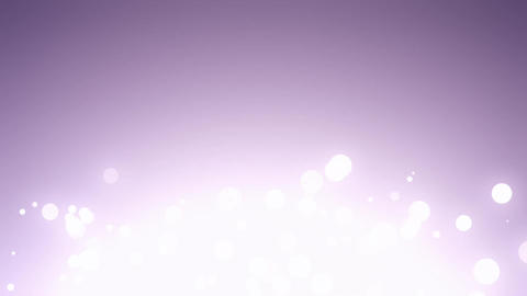 Bokeh Particles With Flare Flare Bottom All Width Footage