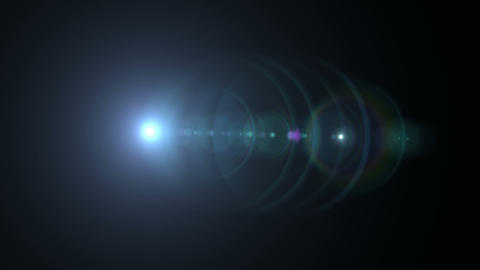 Prime 100mm Lens Flare 185 stock footage