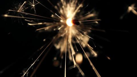 Burning Bengal Lights Sparkler 7 Footage