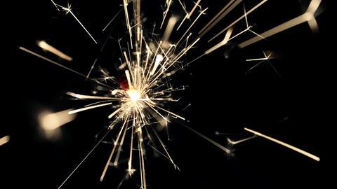 Burning Bengal Lights Sparkler 14 Footage