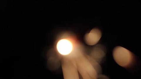 Burning Bengal Lights Sparkler 4 Footage