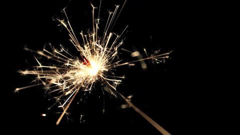 Burning Bengal Lights Sparkler 13 Footage