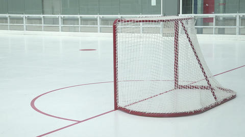 Hockey Practice (10 Of 10) stock footage