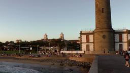 Spain The Canary Islands Gran Canary 029 base of Maspalomas lighthouse Footage
