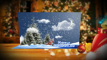 Merry Christmas & New Year Card After Effects Template