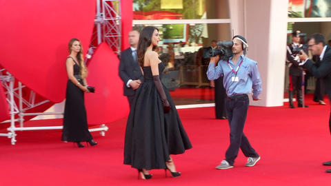 Moran Atias red carpet Footage
