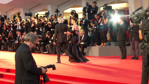 Tracks red carpet Footage