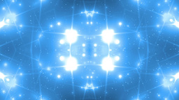 Background Blue Motion With Fractal Design Animation