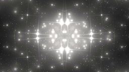 Background Silver Motion With Fractal Design Animation