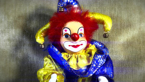 4 K Scary Clown Doll 35 stylized Live Action