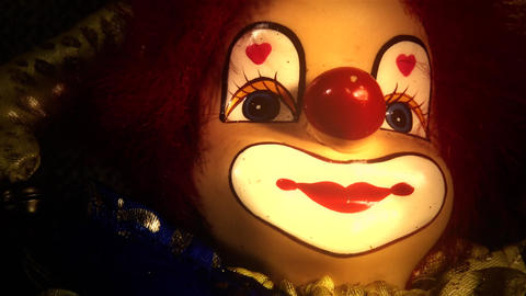 4 K Scary Clown Doll 40 stylized Live Action