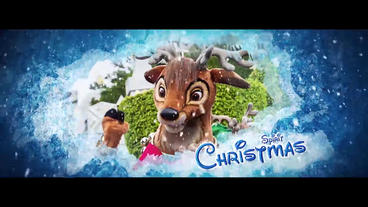 Ice christmas After Effects Template