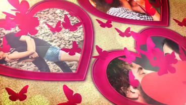 Romantic Heart Opener After Effects Templates