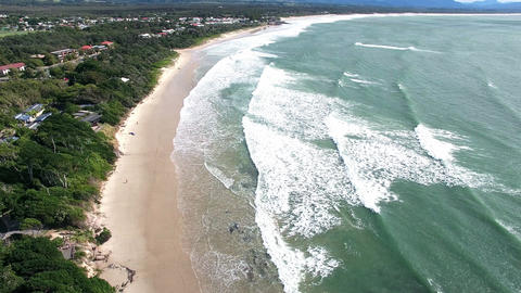 Australia, Byron Bay Beach Footage
