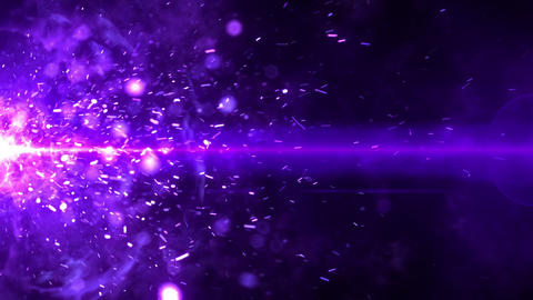 SHA Flame Spark ImageEffects Violet Animation