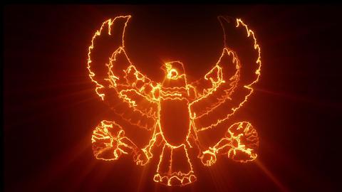 Egypt Symbol Loop Animation