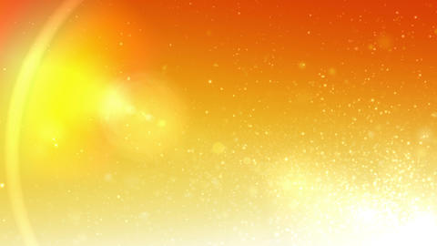 Background-splash orange loop CG動画素材