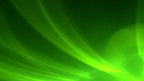 Green abstract motion background lighting effects Animation