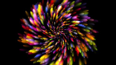 Fireworks colors Animation