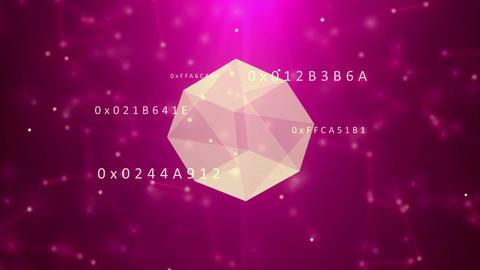 Spinning diamond Animation
