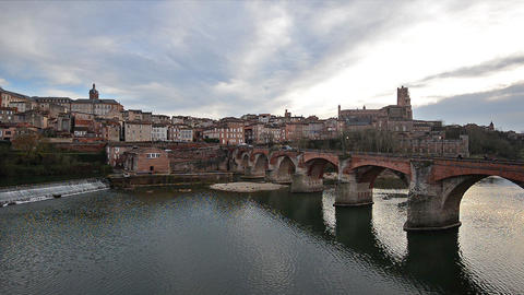 Albi, France, Video - Albi before the Sunset Footage