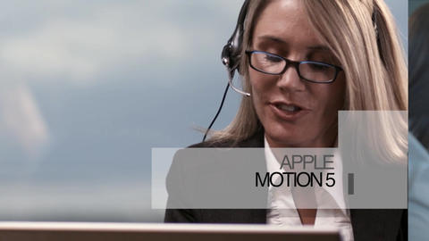 Slideshow105 Apple Motion Template