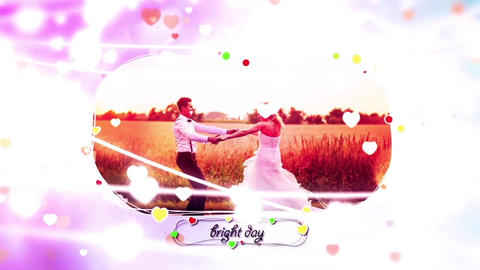 Romance In The Air After Effects Template