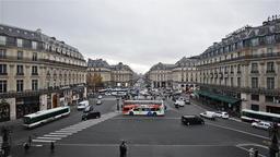 Paris, France - Video - The Avenue de l'Opera Footage