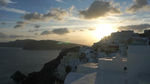 Santorini Island in FULL HD Live Action